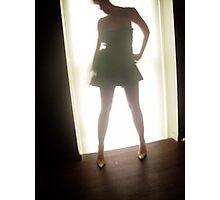 Green Dress Photographic Print