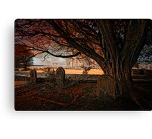 Hearse long gone... Canvas Print