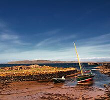 Portencross Harbour by Eddie Dowds
