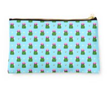 Plant Sprite with Bee and Flower Studio Pouch