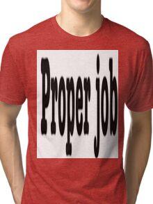 CORNISH SLANG Tri-blend T-Shirt