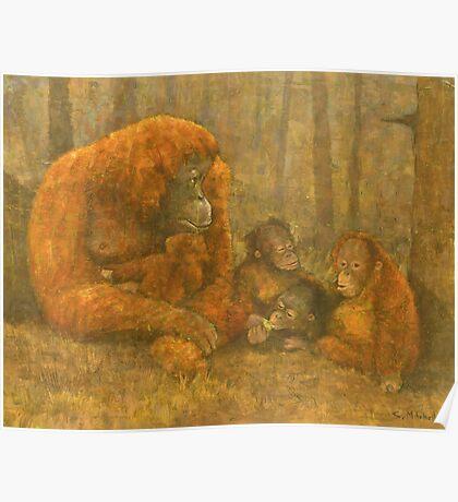 Sumatra Red Poster