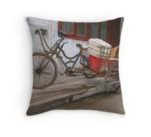 Chinese pick-up truck Throw Pillow
