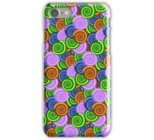 Spiral Shell Pattern Texture iPhone Case/Skin