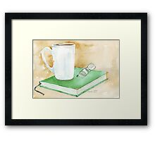 The pleasures of life! Framed Print