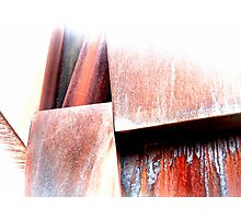 Rust  streaks #2 Photographic Print