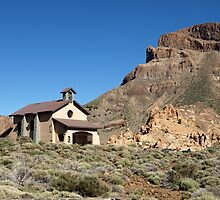 Chapel on El Teide by Janone