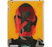 Zer0 Sum Vintage Poster iPad Case/Skin