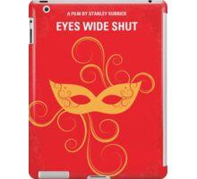 No164 My Eyes wide shut minimal movie poster iPad Case/Skin