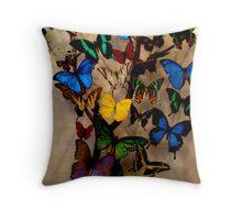 Flutters  Throw Pillow