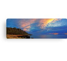 Panoramic Clyde Canvas Print