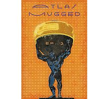 Atlas Mugged Vintage Poster Photographic Print