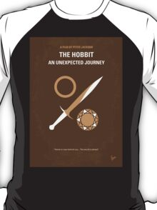 No166 My The Hobbit minimal movie poster T-Shirt