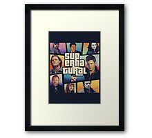 supernatural GTA Framed Print