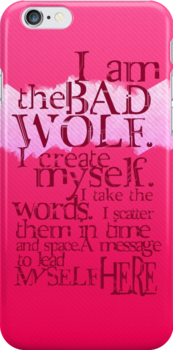 I am the BAD WOLF by KanaHyde