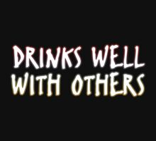 Drinks Well With Others One Piece - Short Sleeve