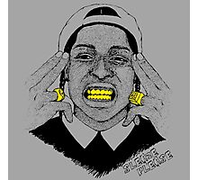 A$AP ROCKY - SLEAZE PLEASE Photographic Print