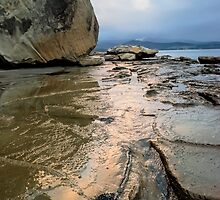 Bruny Island Low Tide by Anthony Davey