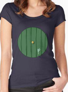 Bilbo's door Women's Fitted Scoop T-Shirt