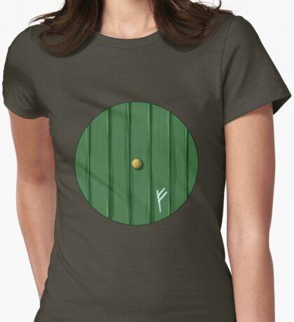 Bilbo's door Womens Fitted T-Shirt