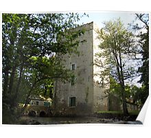 Yeats tower (Ballylee Castle) Poster