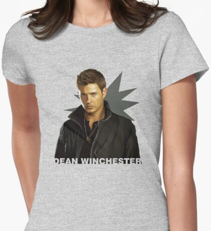 Dean Winchester Womens Fitted T-Shirt
