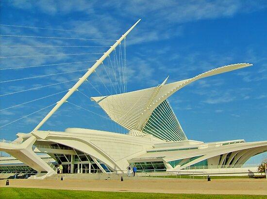 Milwaukee Art Museum by Jigsawman
