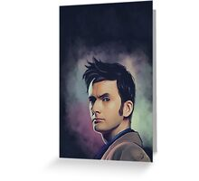 David Tennant Greeting Card