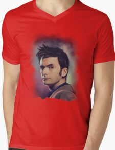 David Tennant Mens V-Neck T-Shirt