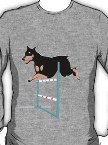 Agility Doberman T-Shirt