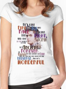 wonderful doctor Women's Fitted Scoop T-Shirt