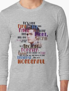 wonderful doctor Long Sleeve T-Shirt