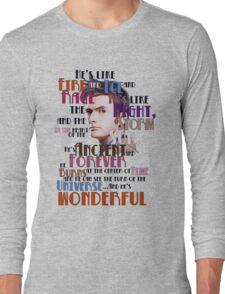 wonderful doctor Long Sleeve T-Shirt