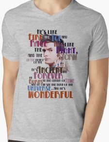wonderful doctor Mens V-Neck T-Shirt