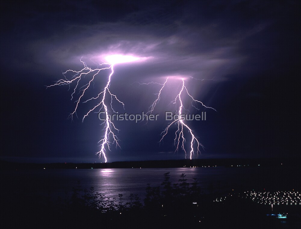 Couple Electric by Christopher  Boswell