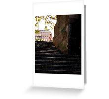 another blonde chapter ~ steps Greeting Card