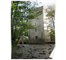 Yeats tower 3 (Ballylee Castle) Poster