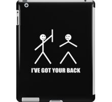 I've Got Your Back Funny Geek Nerd iPad Case/Skin