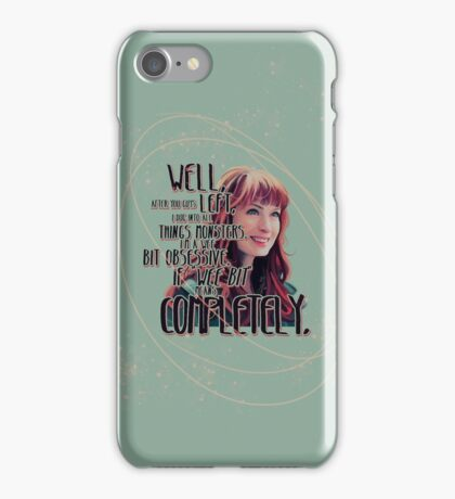 Obsessed iPhone Case/Skin