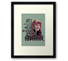 Obsessed Framed Print