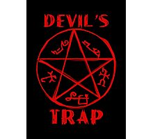 Devil's trap Photographic Print