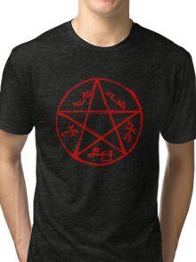 Devil's trap Tri-blend T-Shirt