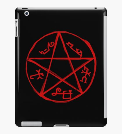 Devil's trap iPad Case/Skin