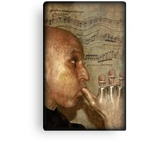 Blowing my own trumpet Metal Print