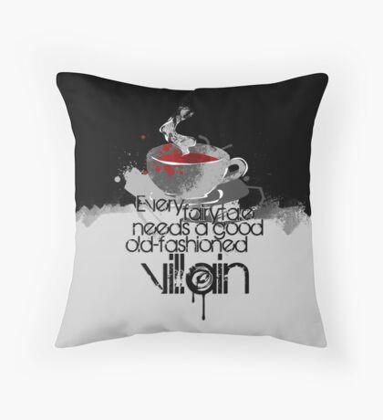 Moriarty fairytale Throw Pillow