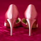 My fabulous pink wedding shoes by Zoë Power