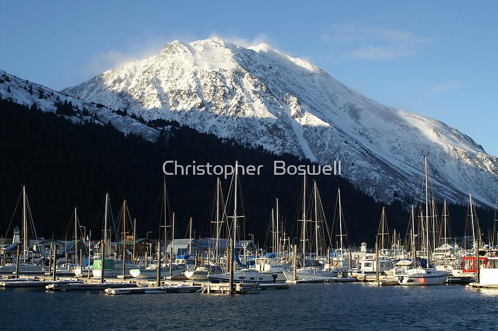 Seward Alaska by Christopher  Boswell