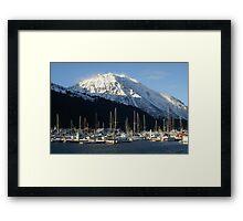 Seward Alaska Framed Print