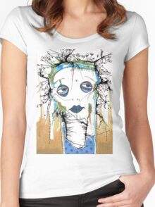 Blue Mood Women's Fitted Scoop T-Shirt