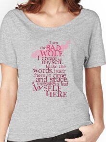 I am the BAD WOLF Women's Relaxed Fit T-Shirt